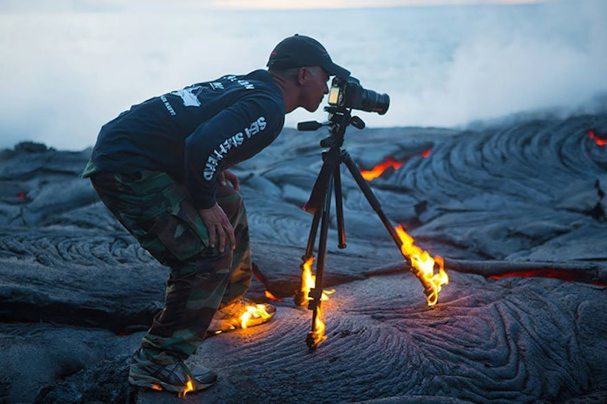 10 Crazy Photographers Who Will Stop At Nothing To Capture The Perfect Shot