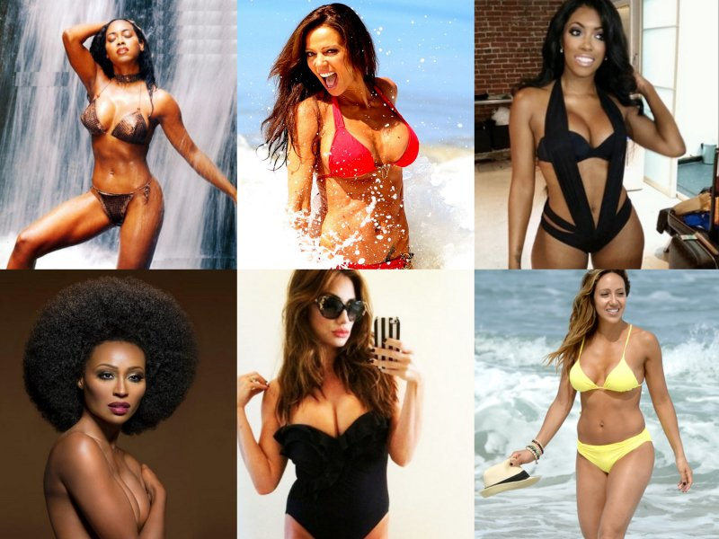 10 Of The Hottest 'Real Housewives' Stars