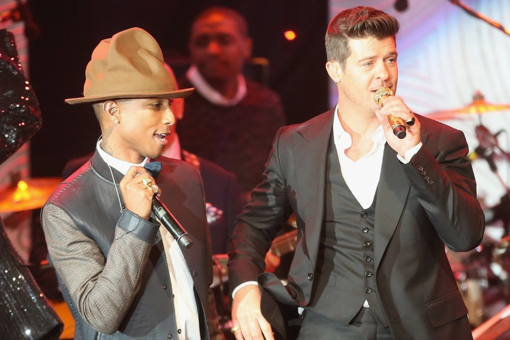 Blurred Lines' Pharrell Williams & Robin Thicke Ordered To Pay $7.3M To Marvin Gaye Family