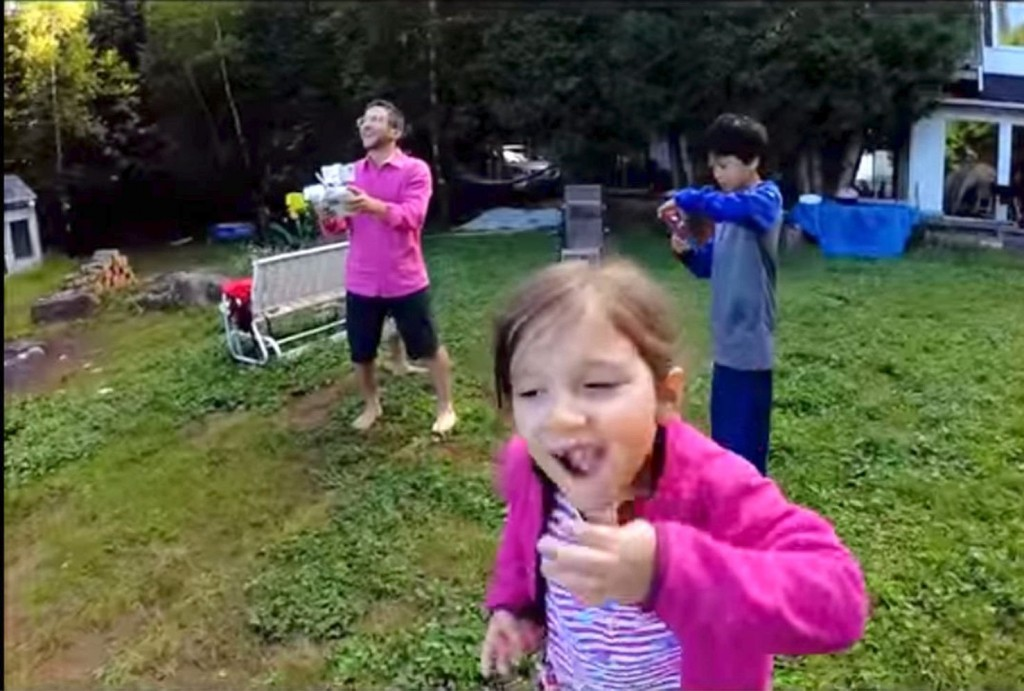 Drone Pulls Young Girl's Tooth From Her Mouth