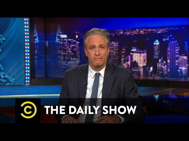 John Stewart Doesn't Have Jokes When It Comes To The Charleston Church Shooting