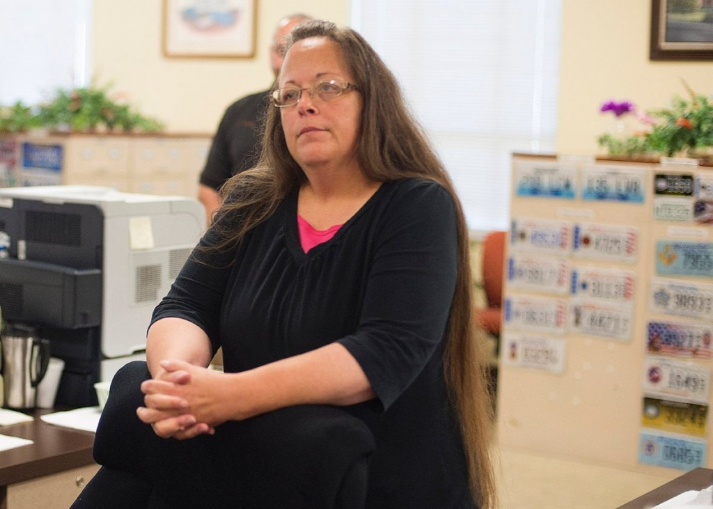 Kentucky Anti-Gay Marriage Clerk Is Going To Jail
