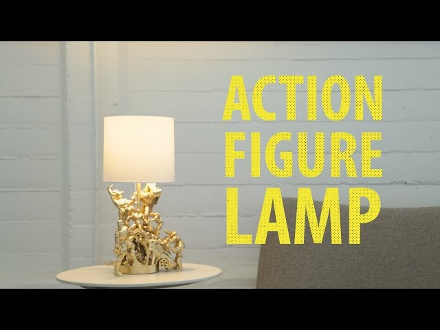Old Toys Gets New Life As Easy-To-Do Elegant Lamp