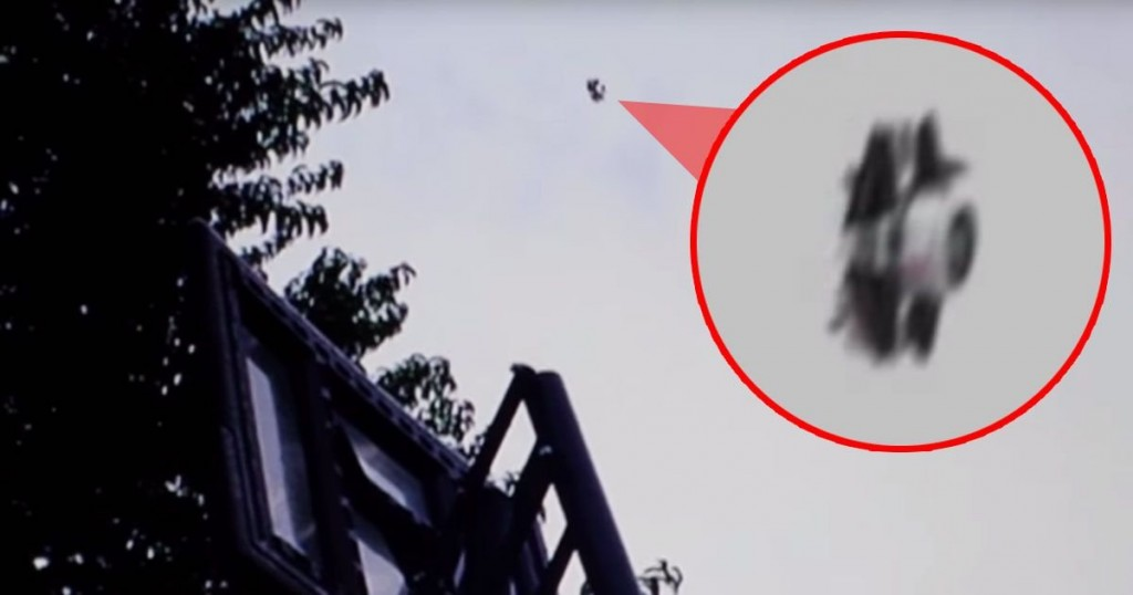 Parents Claim Their Son Was 'Stalked' By A UFO