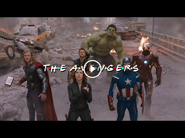 The Avengers Meets Friends In This Hilarious Video