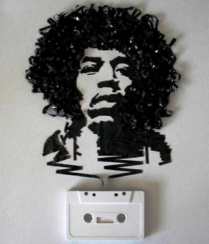 10 Brilliant Music Tributes Using Cassette Tapes