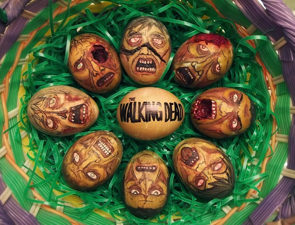 10 Cool Pop Culture Inspired Easter Egg Designs