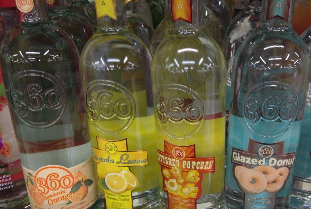 10 Of The Weirdest Vodka Flavors You Can Buy