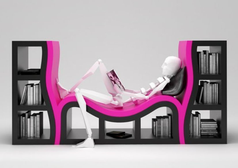 10 Unique Bookshelf Designs For Any Bookworm