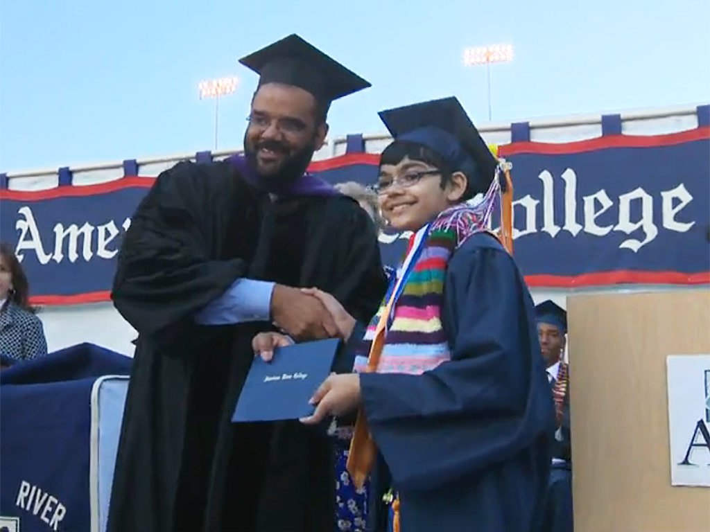 11-Year-Old Sacramento Boy Graduates From College