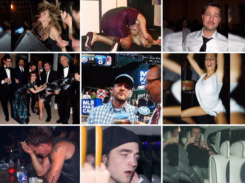 18 Celebrities Who've Had One Too Many To Drink