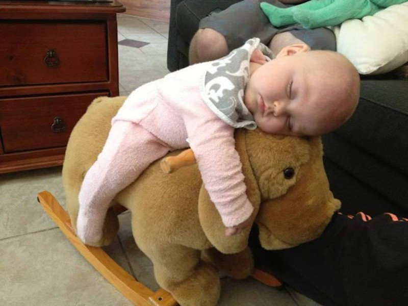 20 Kids Napping In Hilarious Places