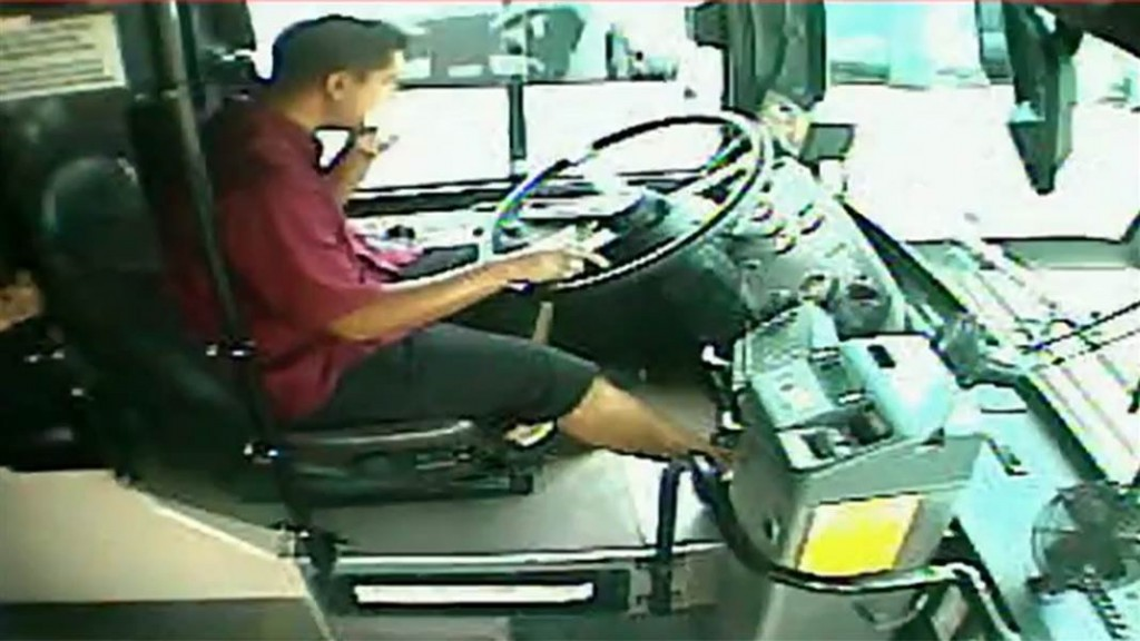 Bus Driver Removed Hands From Wheel To Eat Burrito Causes Massive Crash