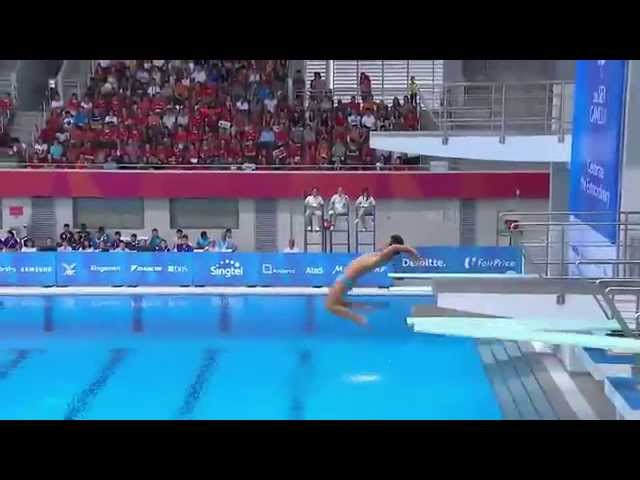 Filipino Diving Team Shows Us How To Score Zero Points At SEA Games 2015