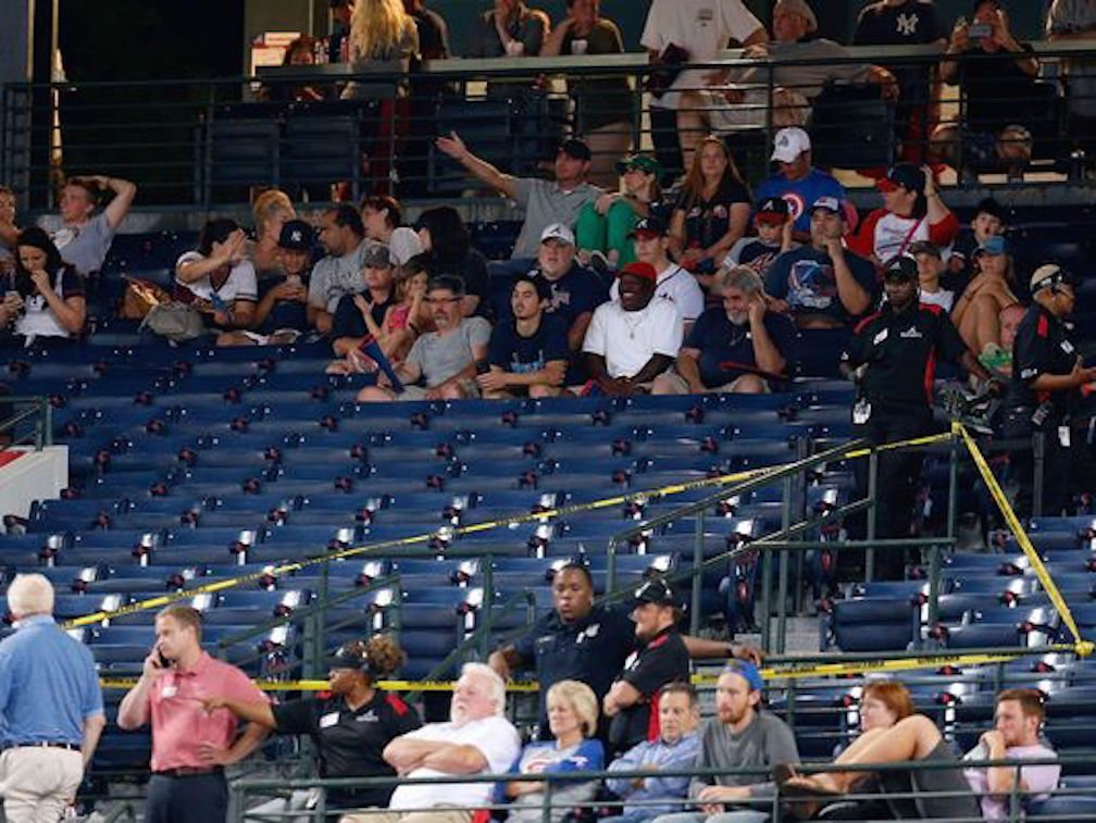 Horrifying Accident Happens During Yankees vs. Braves Baseball Game