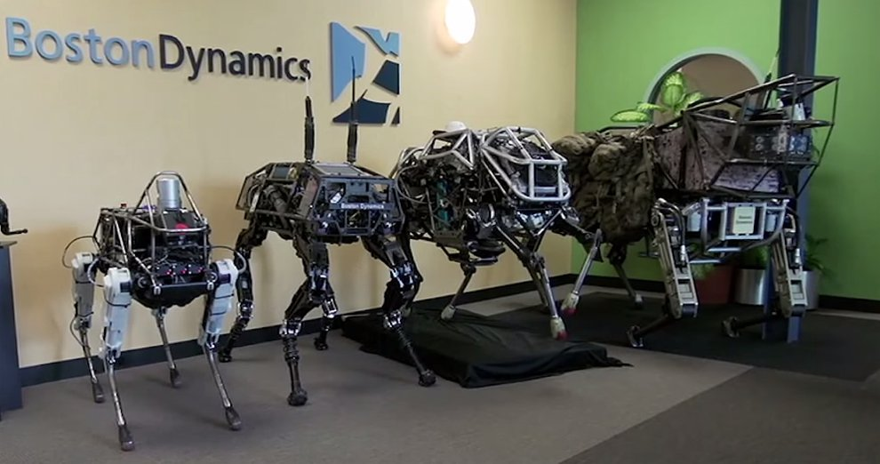 Marine Corps Adds Google's Robotic Dog To The Ranks