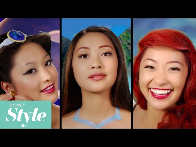 Model Transforms Into Seven Disney Princesses In Just Two Minutes