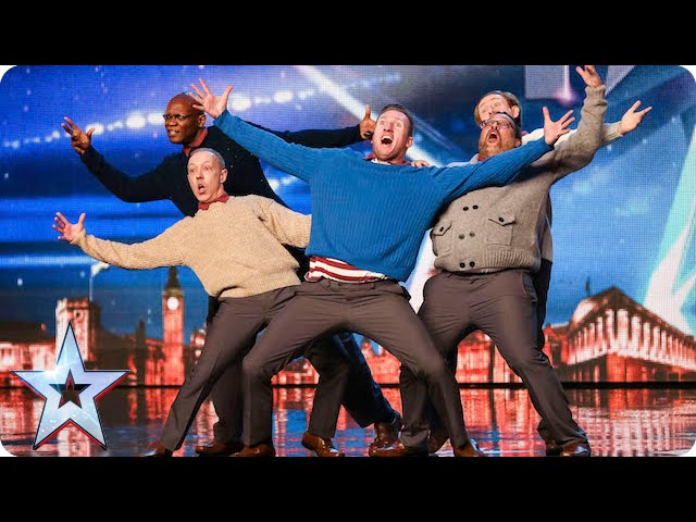 Old Men Dance Audition Shocks The Judges On Britain's Got Talent