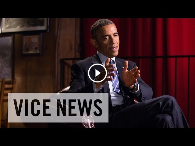President Barack Obama Talks About Legalizing Marijuana With VICE News