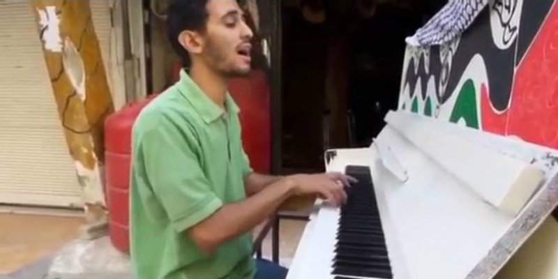 Syrian Piano Player Forced To Flee After ISIS Called His Music A Sin