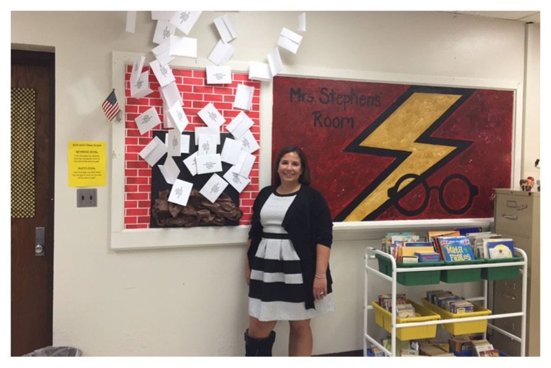 Teacher Creates Amazing Harry Potter Themed Classroom