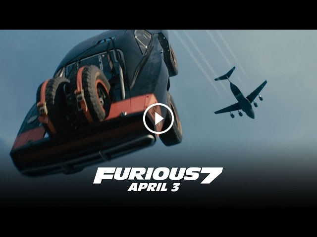 This Furious 7 Trailer Defies The Laws Of Physics