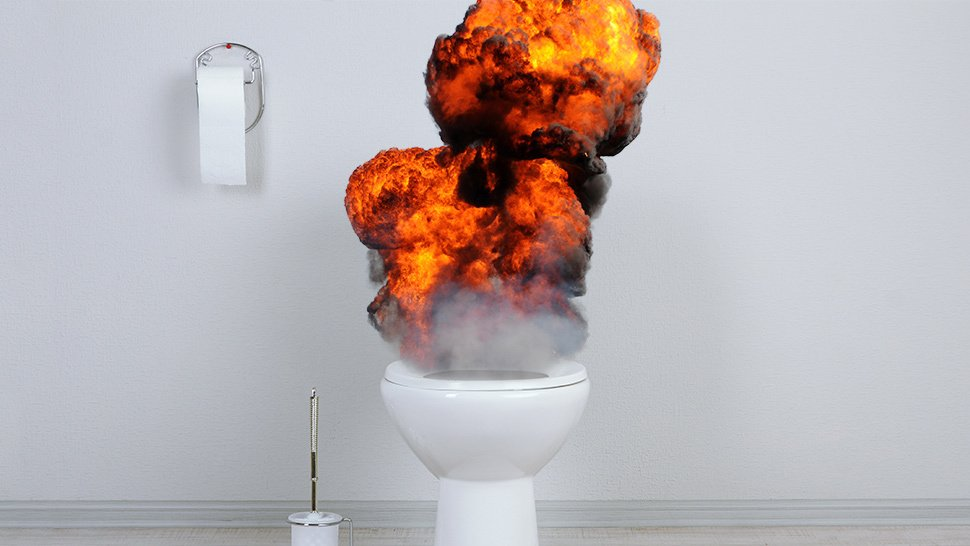 Toilet Explosion Leaves A Woman Seriously Injured