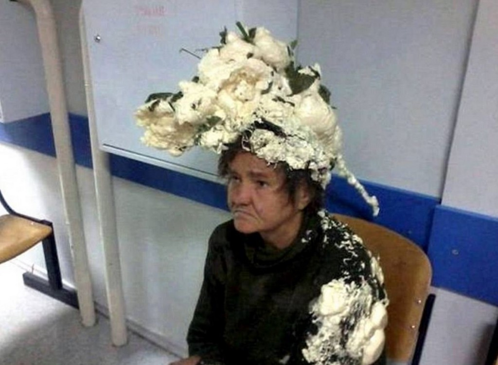 Woman Lands Herself In Hospital After Using Building Foam Instead Of Hair Mousse