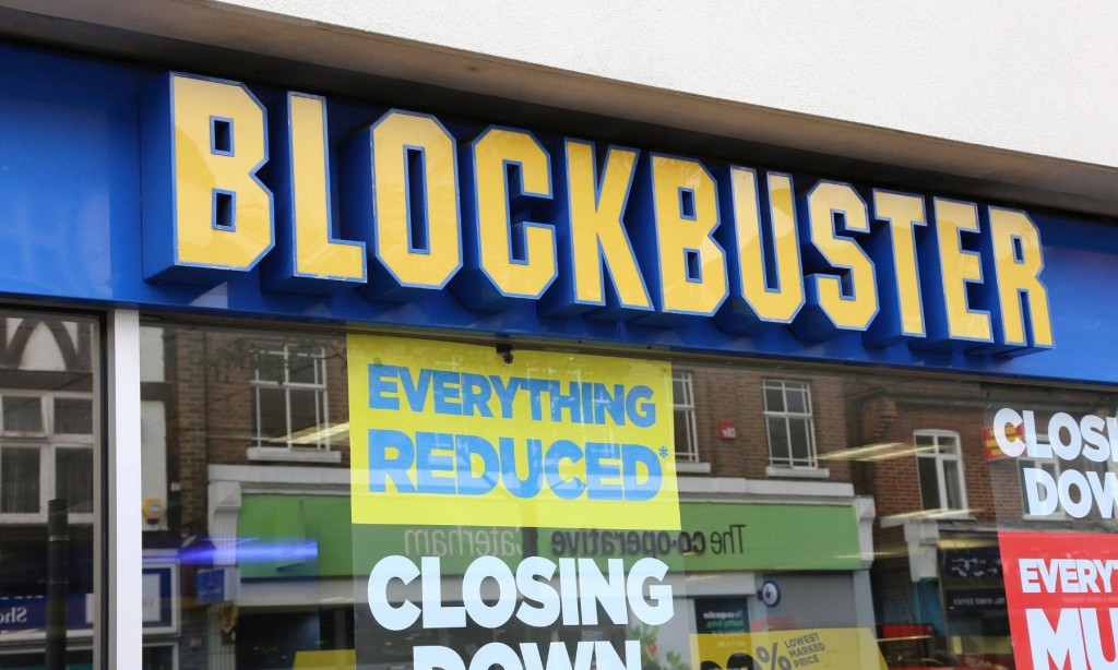 blockbusters place in the current movie rental The blockbuster video living museum offers tourists a glimpse of how americans rented movies before the advent of services like netflix and itunes.