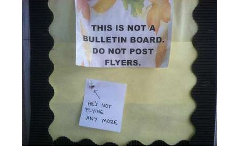 Funny College Dorm Room Signs