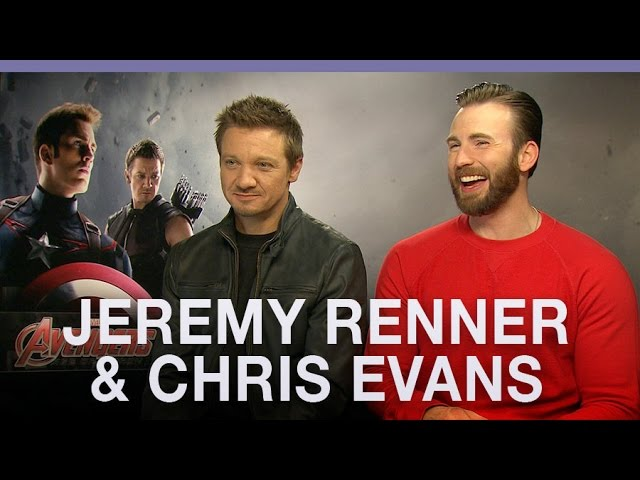 Chris Evans And Jeremy Renner Degrade Black Widow In Interview