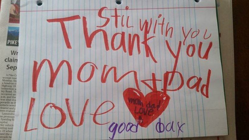 Family Finds Goodbye Note From Recently Deceased 6-Year-Old Boy