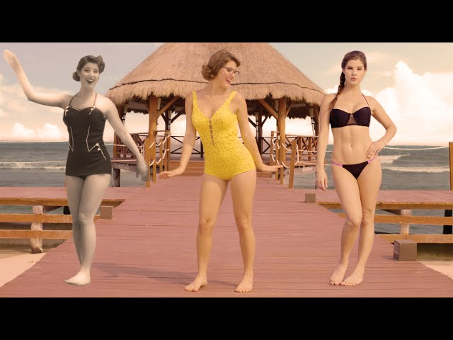 How The Swimsuit Has Evolved In 125 Years