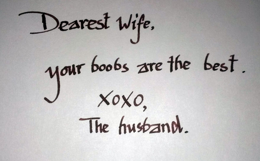 Take A Look At The World's Top 10 Hilarious Love Notes
