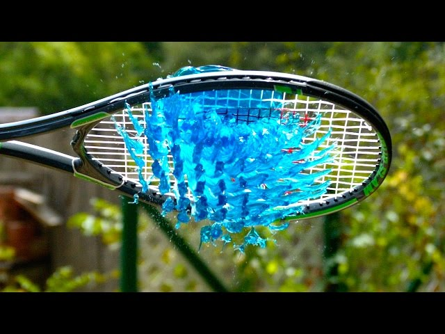 Watch Amazing Slow Motion Jell-O Tennis