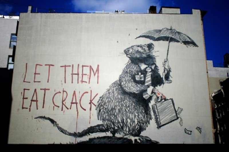 10 Amazing Pieces Of Street Art By Banksy