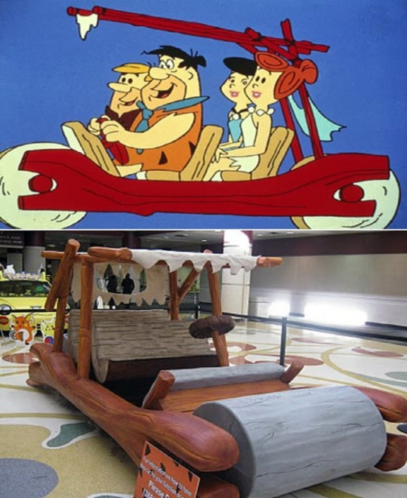 10 Awesome Vehicles Inspired By Cartoons