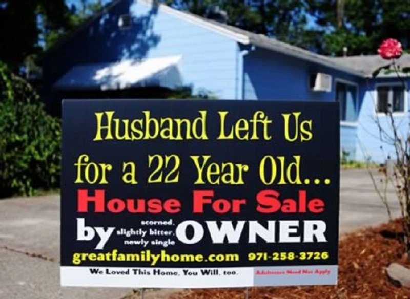Real Estate Signs : Real estate signs that are hilarious