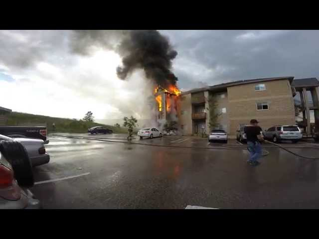 Guys Knock Down Doors In Burning Building, You Won't Believe What They Find