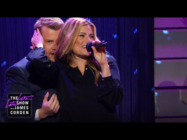 Idina Menzel Gets Dirty With James Corden