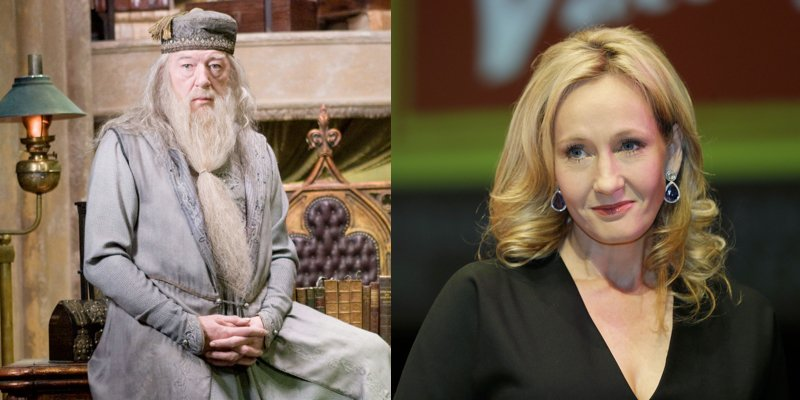 JK Rowling Has The Perfect Response For A Fan Asking About Dumbledore's Sexuality