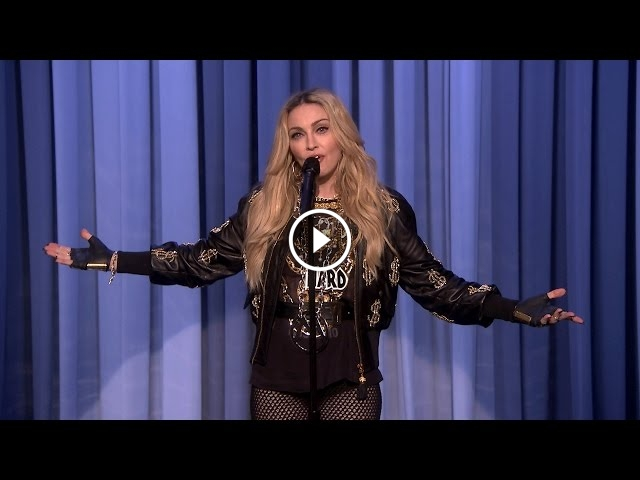 Madonna Makes Her Debut As A Stand Up Comedienne