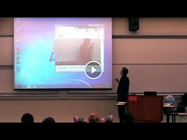 Math Teacher Fights With Himself For April Fools