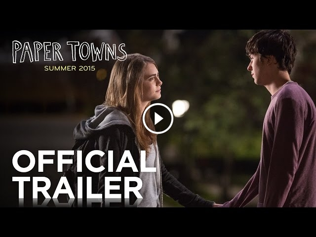 Paper Towns Movie Trailer Released Starring Cara Delevingne and Nat Wolff