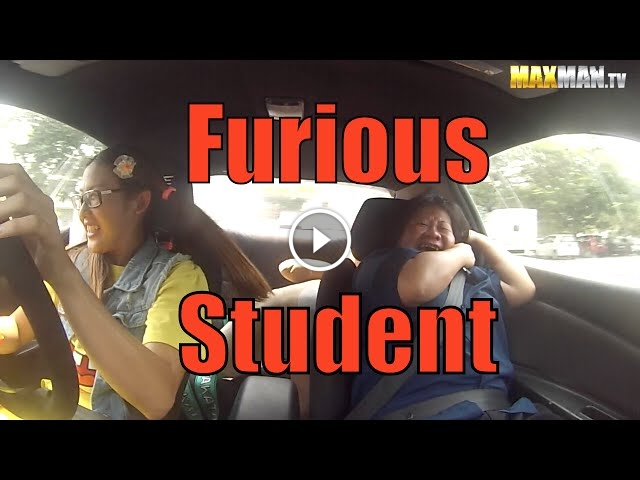 Professional Racer Poses As Driving Student, The Instructor Reactions Are Priceless