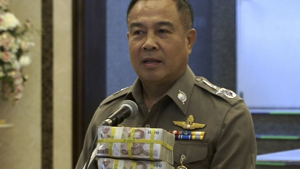 Thai Police Reward Themselves $84,000 After Arresting Bombing Suspect