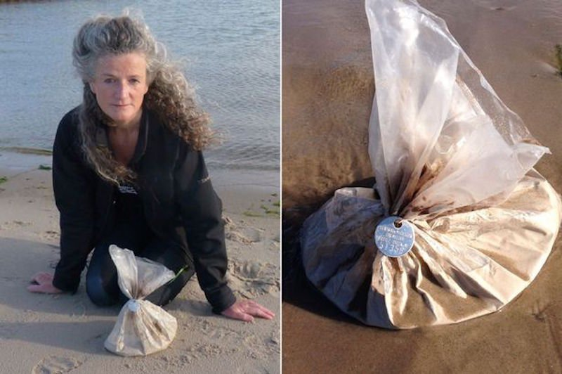 You'll Never Guess What This Scottish Swimmer Found On A Beach