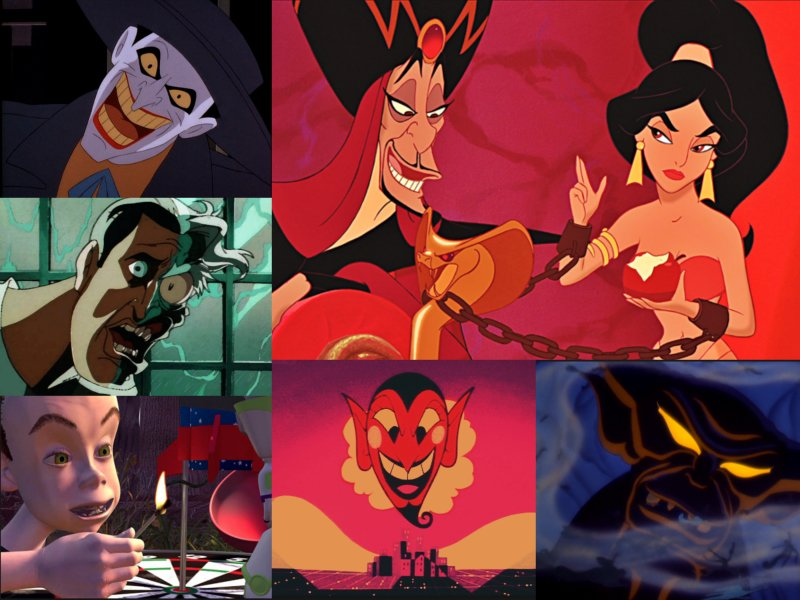 10 Of The Creepiest Animated Villains