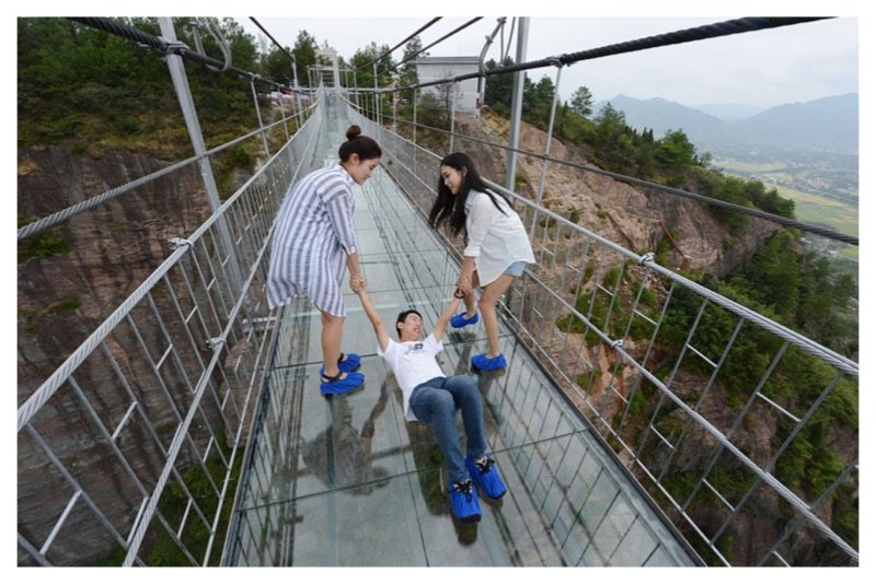 China Creates The World's Longest Glass Bridge